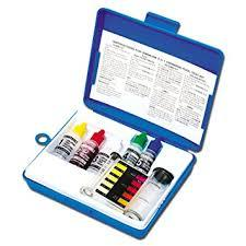 4-Way Liquid Solution Pool Water Test Kit