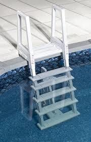 Confer Above Ground Swimming Pool In-Pool Ladder
