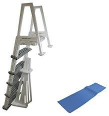 Heavy Duty Aboveground In-Pool Swimming Pool Ladder