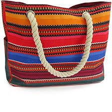 Odyseaco Baja Beach Bag Waterproof Canvas Tote