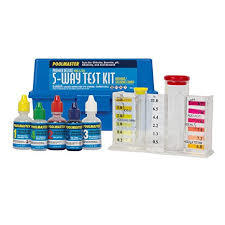 Poolmaster 22270 5-Way Test Kit with Case - Premier