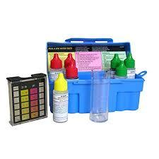 Taylor Swimming Pool & Spa Water 4-In-1 Chlorine Bromine pH Test Kit